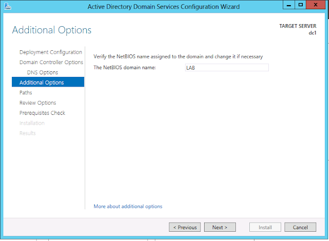 Windows Server 2012 additional options for netbios