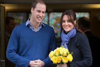 Duke and Duchess of Cambridge after they announced they were expecting a baby