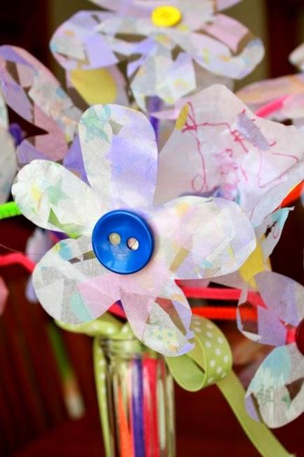http://handsonaswegrow.com/contact-paper-tissue-paper-flowers/
