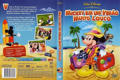 Mickey Em Um Verão Muito Louco DVD Capa