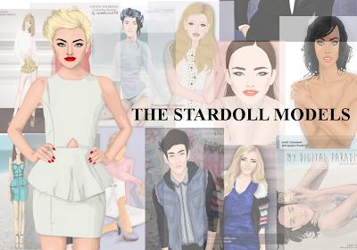 the stardoll models