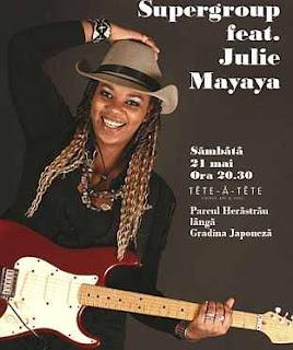 biografie Julie Mayaya vocea romaniei