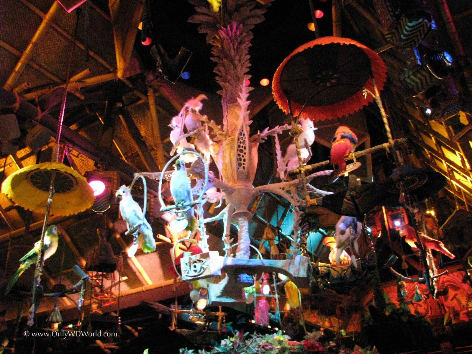 Fate Brings Changes To Walt Disney\'s Enchanted Tiki Room | Disney ...