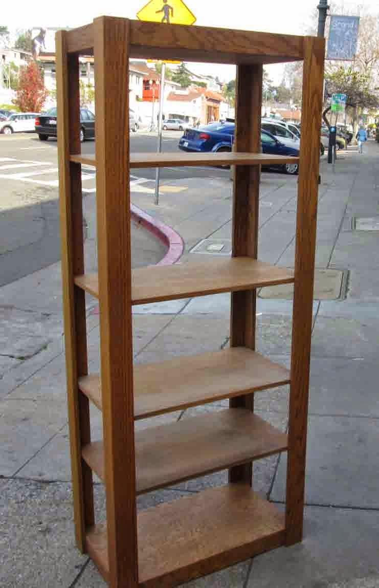 uhuru furniture collectibles sold tall wood display. Black Bedroom Furniture Sets. Home Design Ideas