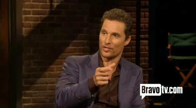 McConaughey at Inside The Actors Studio