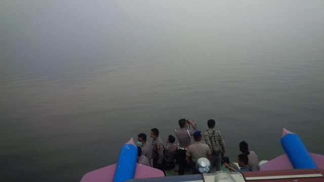 Hari Terakhir Pencarian Heli di Danau Toba