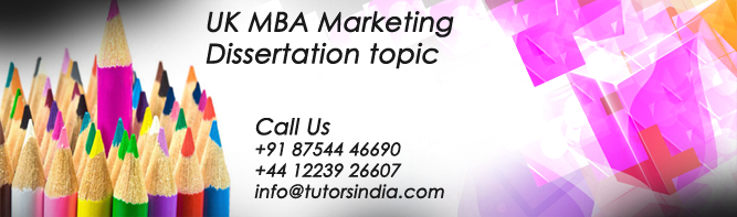 mba thesis on marketing Important topics for projects in marketing thesis or dissertation i want to apply in foreign university for mba in marketing.
