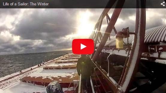 VIDEO - Η ζωή του ναυτικού το χειμώνα, Life of a Sailor: The Winter