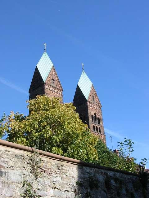 Bad Homburg Aufstieg zur Erlöserkirche