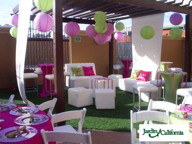 Decoracion jardin infantil - Decoracion fiesta jardin ...