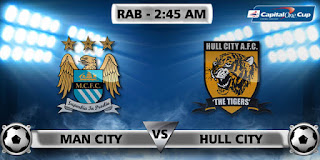 Prediksi Manchester City vs Hull City 02 Desember – Capital One Cup
