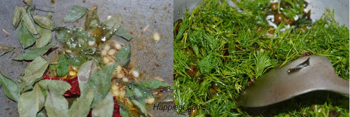 Dill Leaves Bhath + Indian desserts