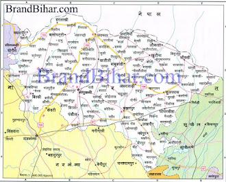 Madhubani Map