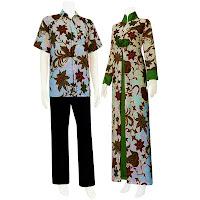 SG 5114 - Batik Gamis/Muslim Pasangan Solo 2013
