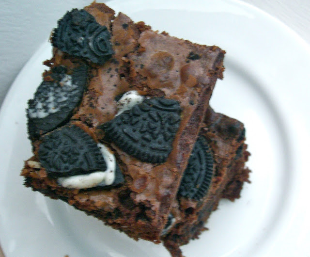 Oreo brownie recipe