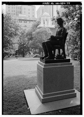 Edgar Allan Poe Statue Richmond