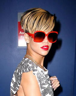 Rihanna Blonde Hairstyles
