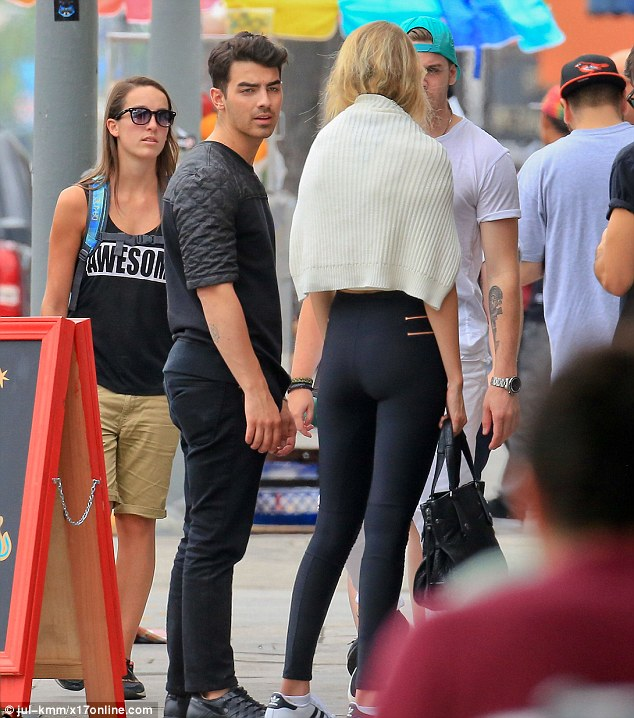 Gigi Hadid and Joe Jonas spotted kissing on LA street