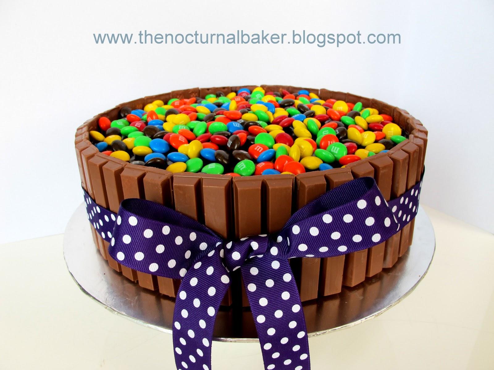 The Nocturnal Baker Kit Kat cake