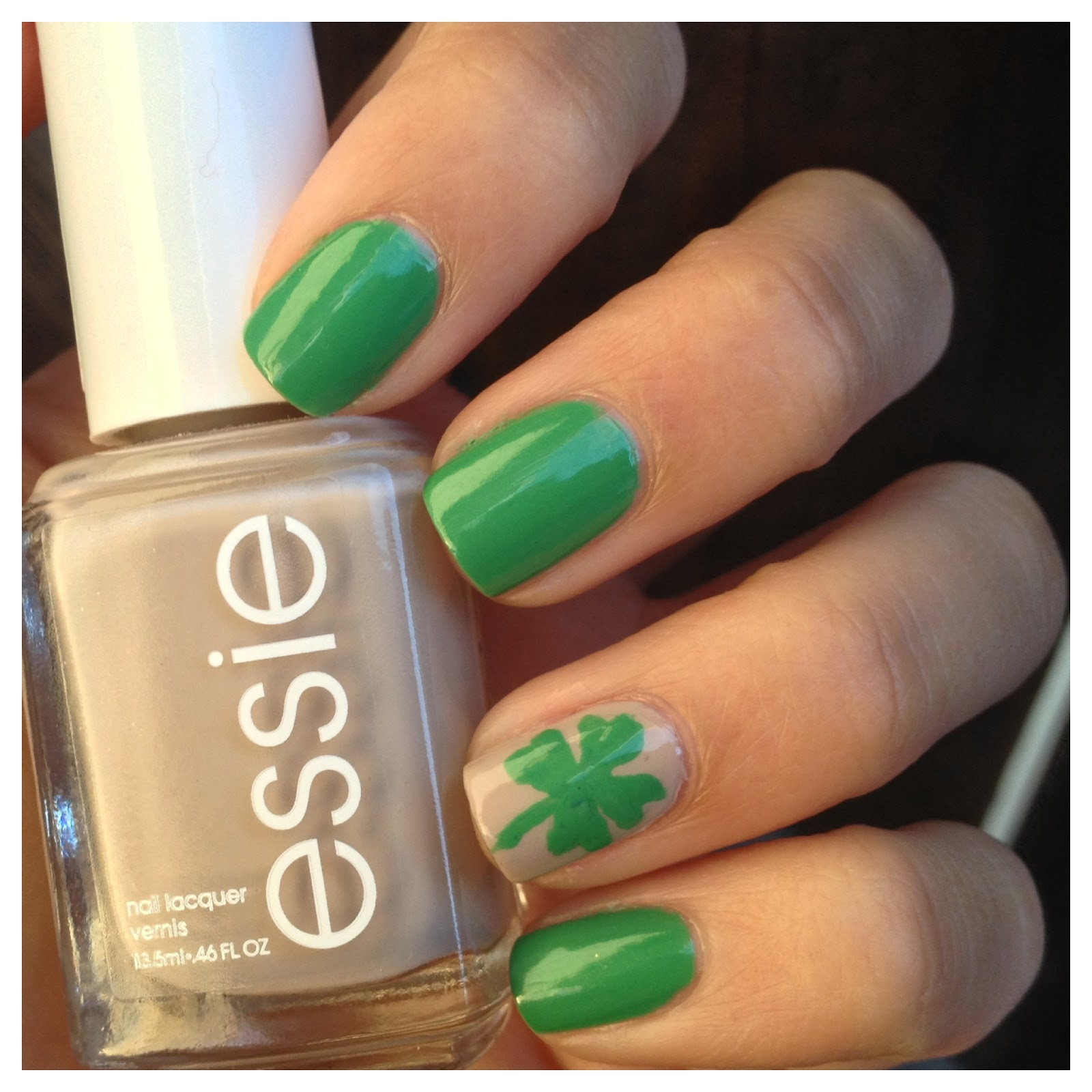 What I Blog About When I Blog About Books: NOTD: Lucky Nails for St ...