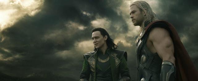Loki and Thor in Thor 2 Dark World still