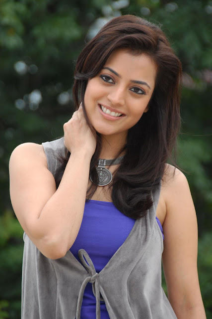 Nisha Agarwal Hot In Blue Dress Pictures