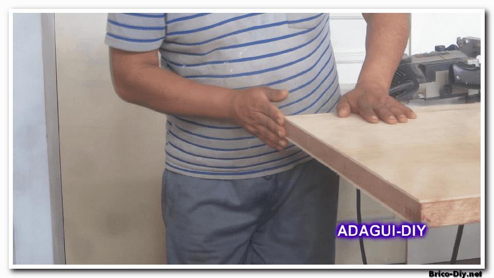 V deo como hacer una puerta contraplacada de triplay web for Como hacer un marco de madera para puerta