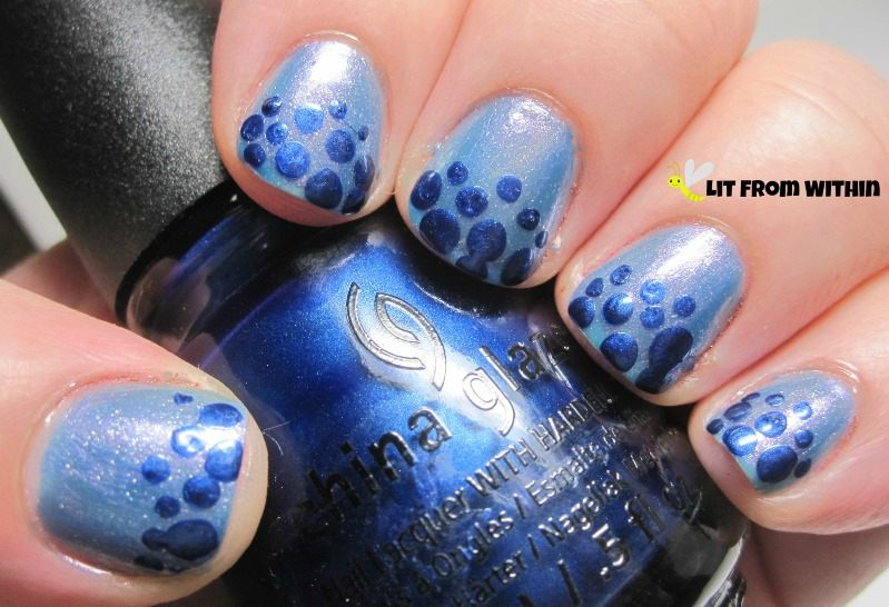 China Glaze Scandalous Shenanigans is not only adorably named, but is also a pretty metallic cobalt blue.
