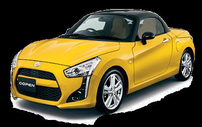 Daihatsu Copen - Yellow
