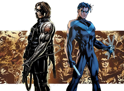 Winter Soldier and Nightwing
