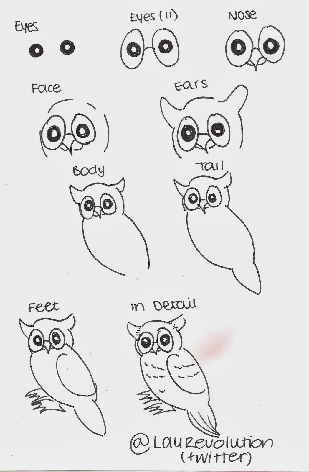 art is the last form of magic how to draw a cartoon owl