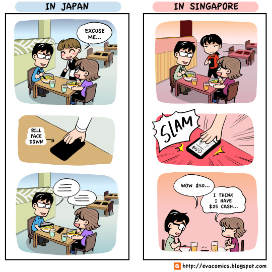 japan singapore cultural difference culture shock webcomics comic strip cartoon manga