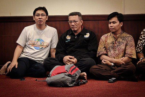 Bersama Bapak Edwel Datuak Rajo Gampo Alam