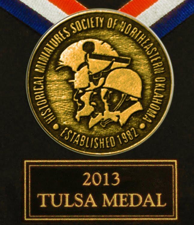 TULSA Medal 2013