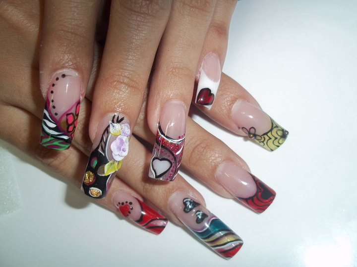 Best of Nail Art: Young Girls With Very Long Nails Arts Pictures