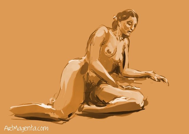 Life drawing from ArtMagenta