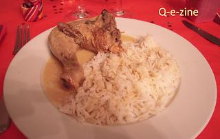 poulet morilles et vin jaune