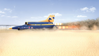 Bloodhound SSC Supersonic Car