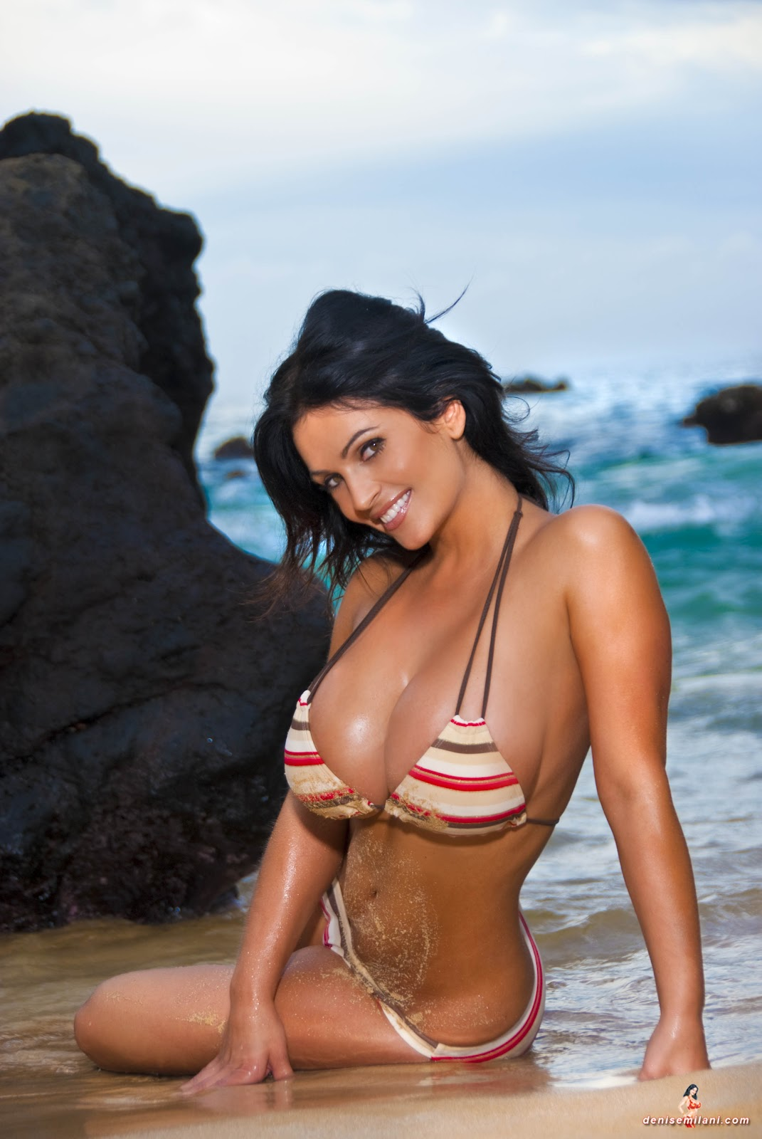 Яна дэфи на пляже 13 фотография