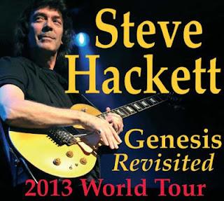 """""""Genesis Revisited"""", il concerto evento del 2013 di Steve Hackett"""