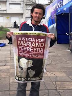 MARIO PEREYRA, HIJO DE PAPELERO, TAMBIÉN QUIERE JUSTICIA PARA MARIANO