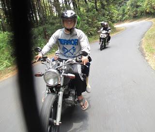 Lakukan tes sepeda motor langsung