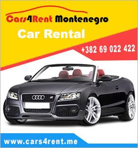 Rent a car Podgorica
