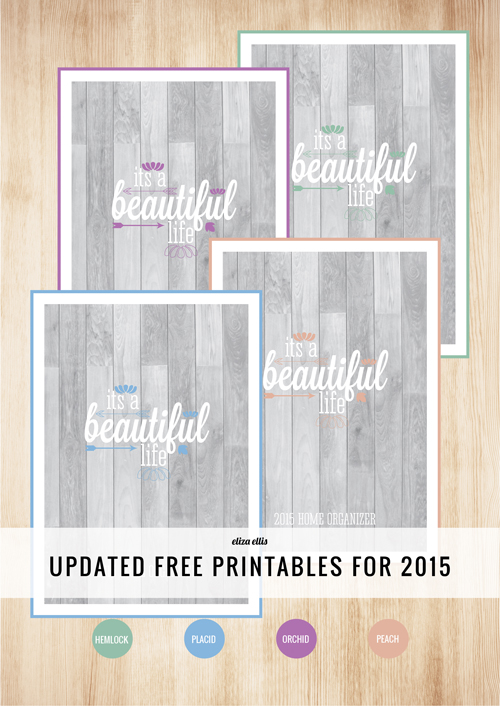 FREE PRINTABLES - cover