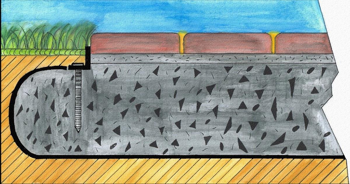 cr ation paysage installation de pav uni pour un trottoir ou un patio. Black Bedroom Furniture Sets. Home Design Ideas