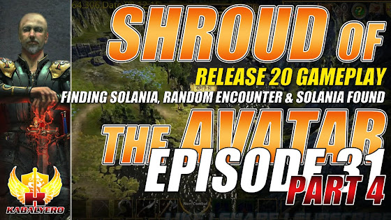Shroud Of The Avatar Release 20 → Finding Solania, Random Encounter & Solania Found