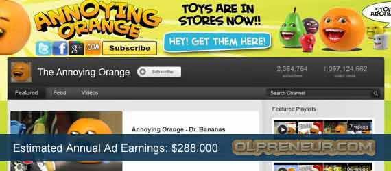 Top 5 Publisher Adsense YouTube Terkaya
