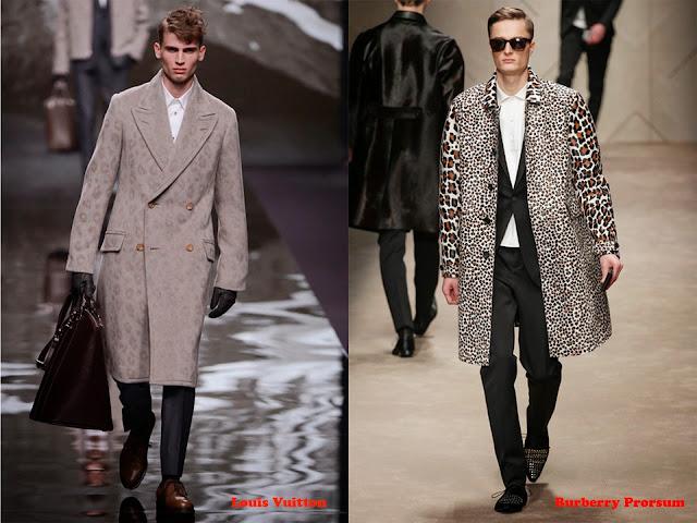 """Tendencia otoño_invierno 2013-14 """"animal print"""": Louis Vuitton y Burberry Prorsum"""
