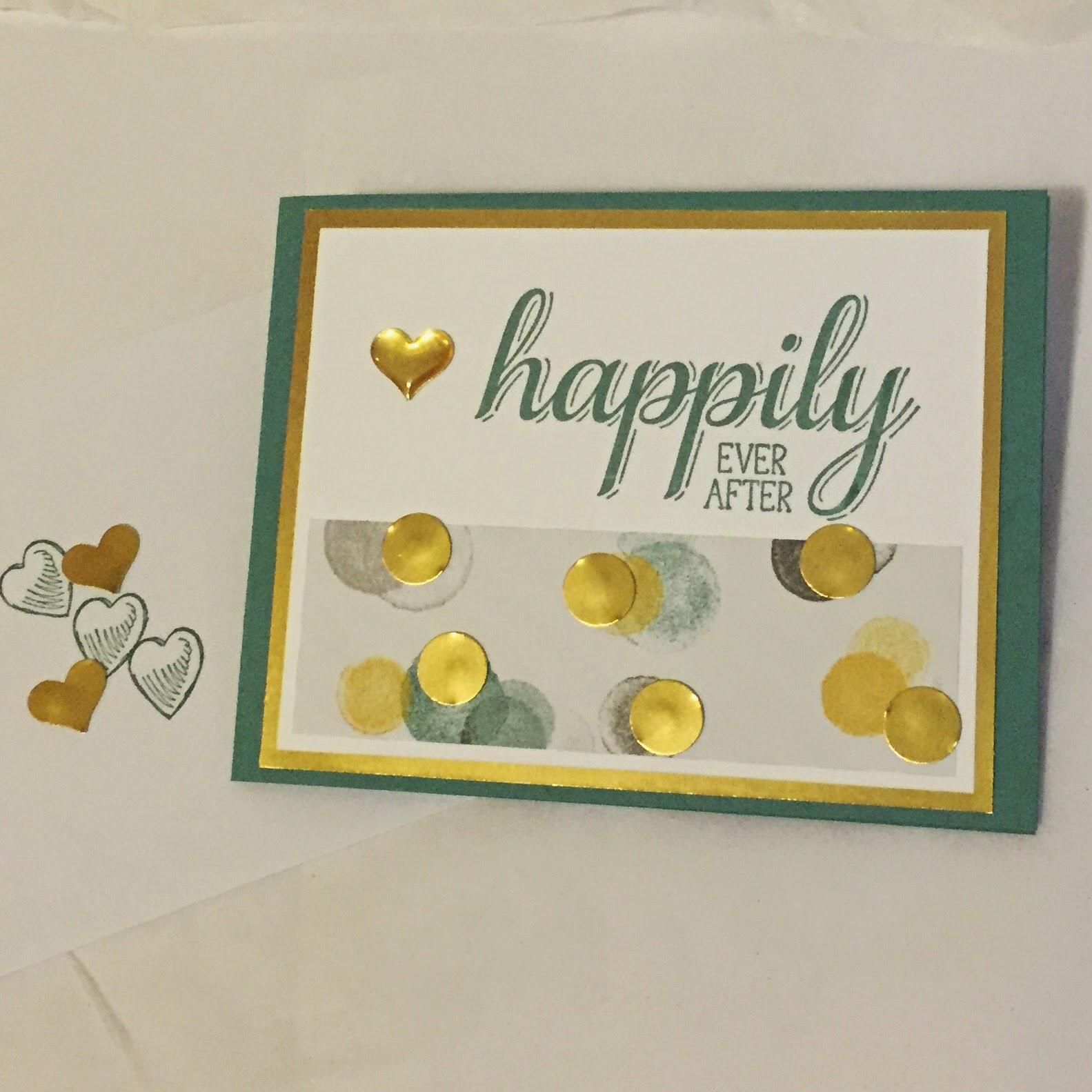 Big News stamp Moonlight DSP Stampin Up MidnightCrafting Wedding