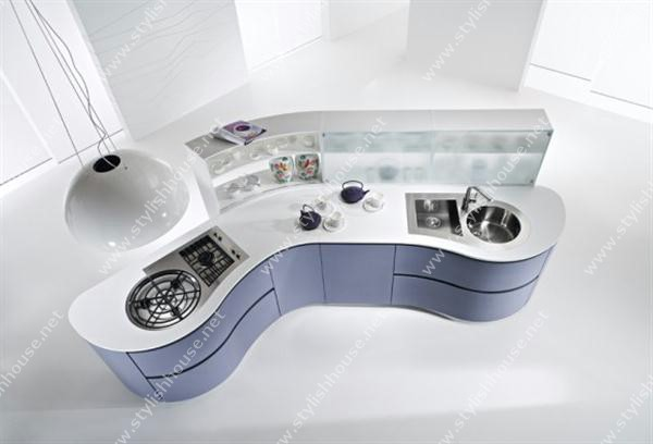 Futuristic Cabinet Modern And Luxury Italian Kitchen Design